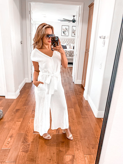 Down by the beach jumpsuit