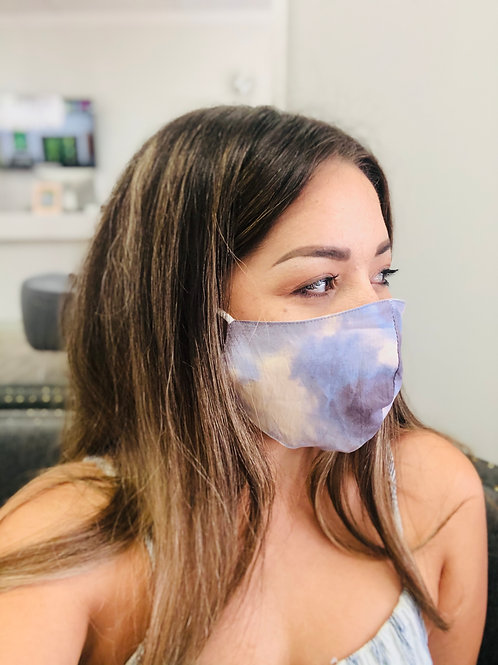 Tie Dye Adult Face Mask