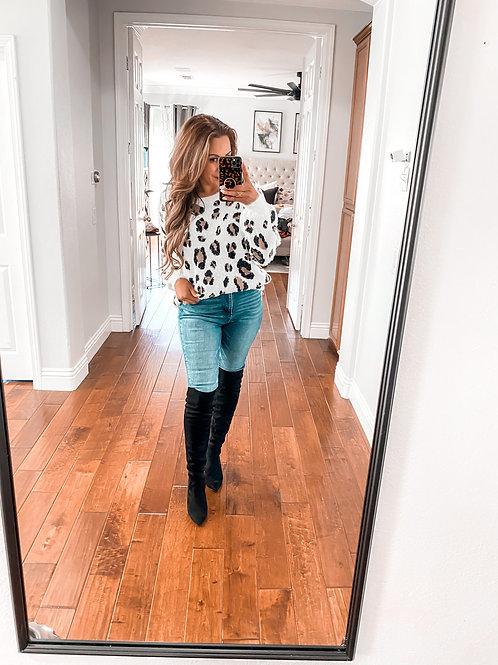 Style Standard Leopard Sweater