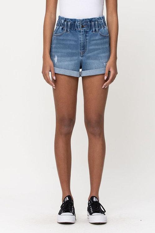 Medium Wash Shorts