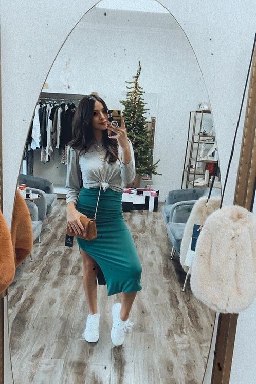 Resse Midi Pencil Skirt
