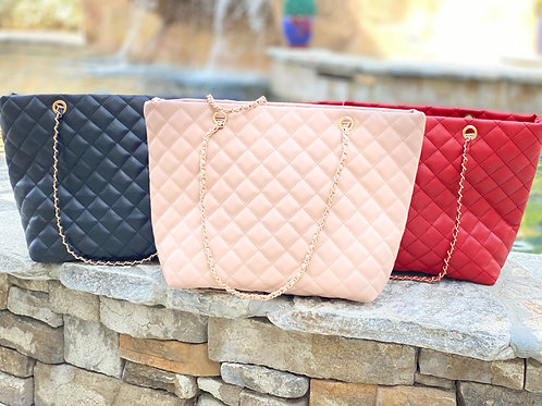 Carry All Quilted Purse