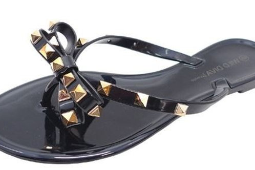 Legend Studded Bow Sandals