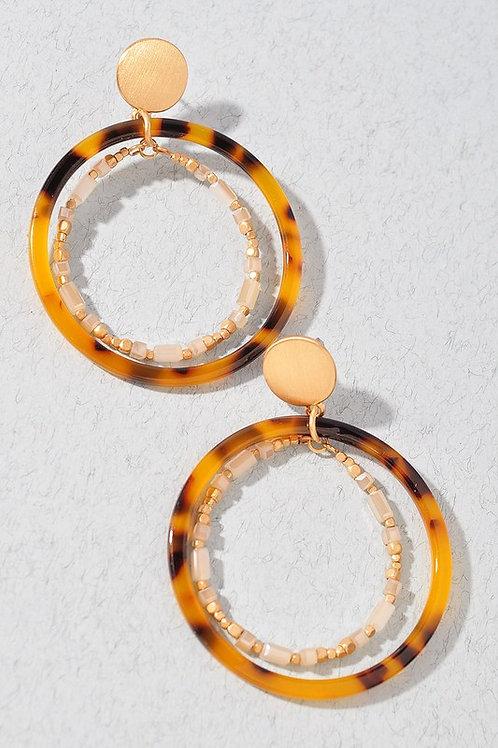 New ideas tortoise earrings