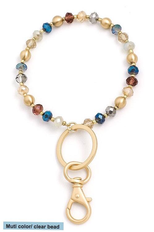 Fashion Beaded key ring