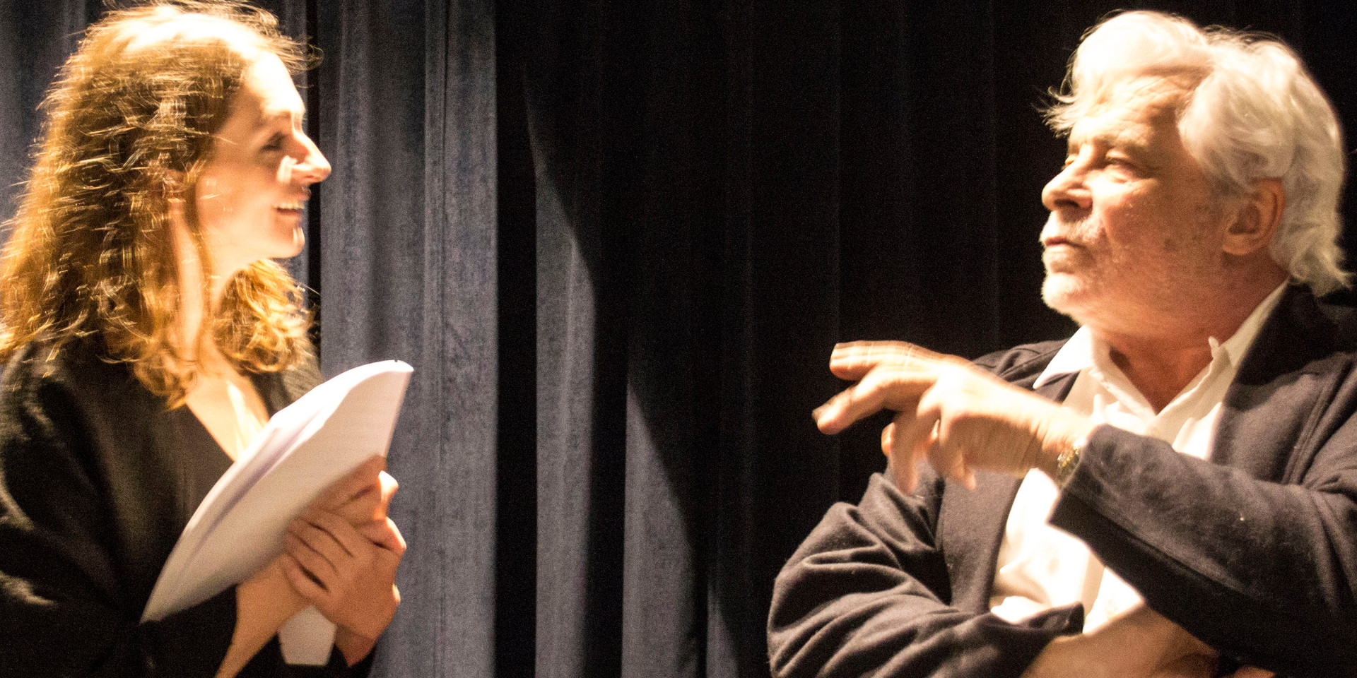 Jacques Weber et Magali Rosenzweig à la Scène Thélème