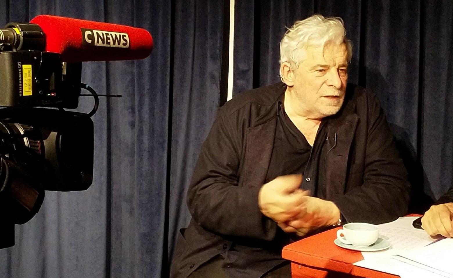 Interview CNews à La Scène Thélème