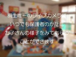 ひかり保育園 ライブカメラ 特徴