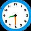 Clock 8:30
