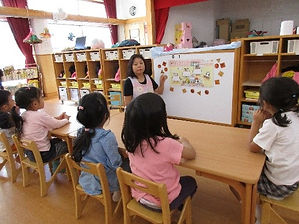 集中 授業 英語 保育