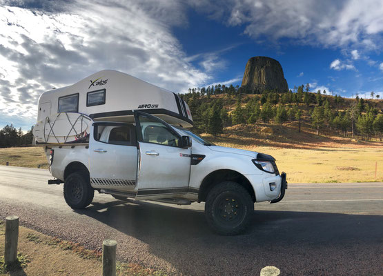 Aero One at Devil's Tower, USA