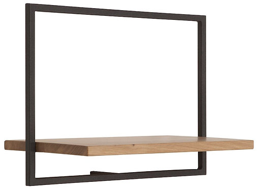 Shelfmate Oak Black, Regal Shelfmate C, Eichenholz, schwarz, 35x50x25cm