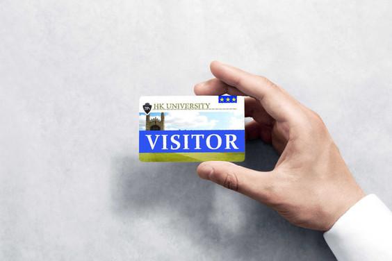Besucherausweis