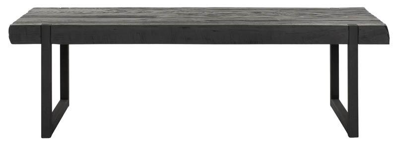 DTP Home Timeless Black, Tisch Beam, recyceltes Teakholz, schwarz