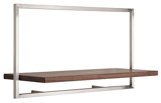 Shelfmate Walnut, Regal Shelfmate A, Walnussholz, braun, 35x65x25cm
