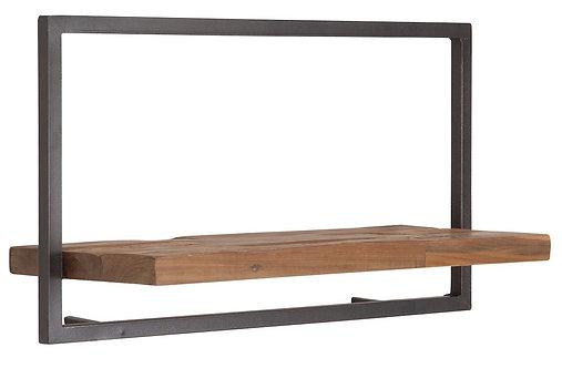 Shelfmate Natural, Regal Shelfmate A, recyceltes Teakholz, braun, 35x65x25cm