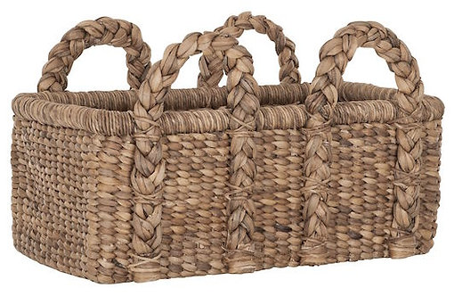 MUST Living, Baskets, Korb Colony Low, Naturfaser, 26x61x35 cm