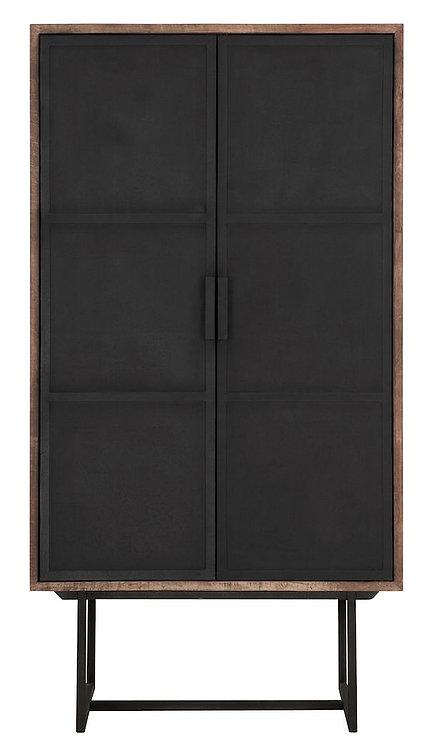 DTP Home, Schrank Odeon, Teakholz, braun, 2-türig,150x80x40cm