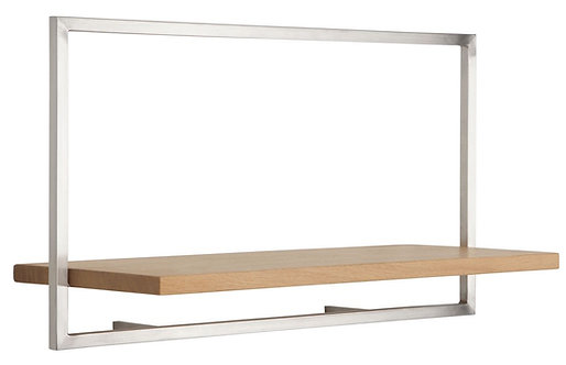 Shelfmate Oak Stainless, Regal Shelfmate A, Eichenholz, braun, 35x65x25cm