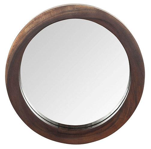 MUST LIVING, Wandspiegel Reflections, recyceltes Teakholz, braun