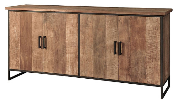 DTP Home Timeless, Sideboard Beam No.1, recyceltes Teakholz, braun, 90x190x47 cm