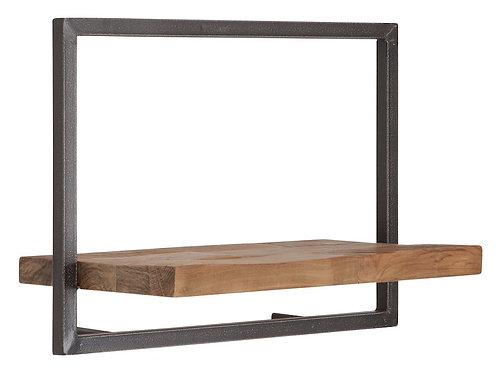 Shelfmate Natural, Regal Shelfmate C, recyceltes Teakholz, braun,35x50x25cm