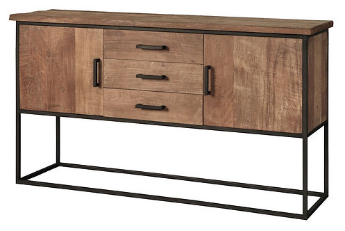 DTP Home Timeless, Sideboard Beam No.2, recyceltes Teakholz, braun, 90x158x43cm