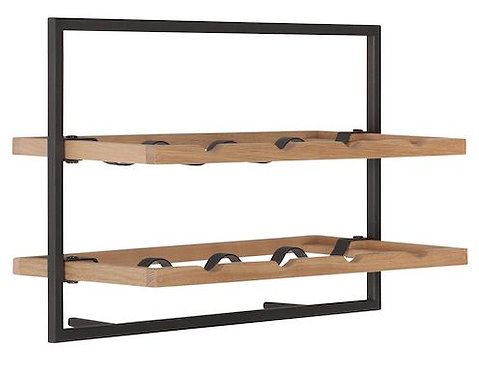 Shelfmate Oak Black, Regal Winemate C, Eichenholz, braun, 35x50x25cm