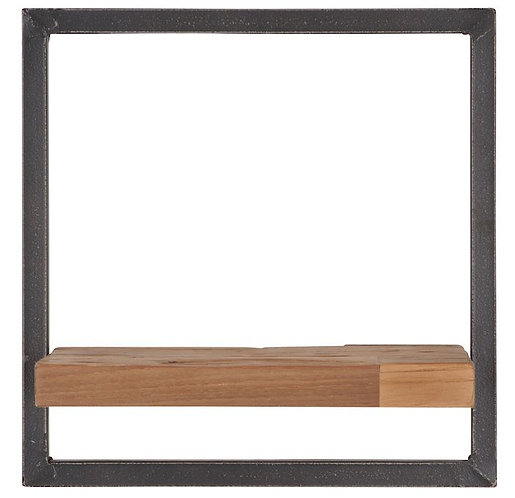 Shelfmate Natural, Regal Shelfmate B, recyceltes Teakholz, braun,3535x25cm