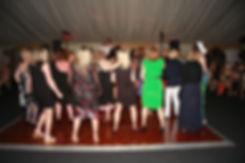 TRribute to Tom Jones with dancing crowd