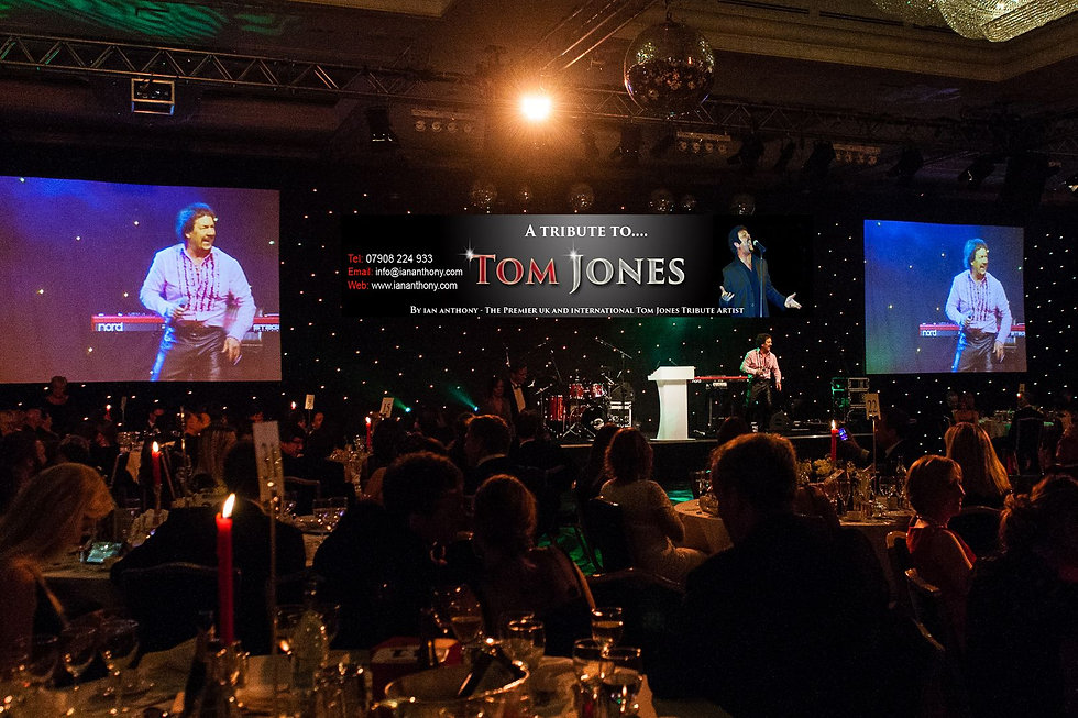 Tom Jones Tribute at charity-gig-and-banner-compressor