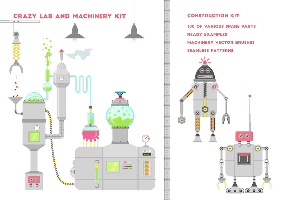 robots and lab details