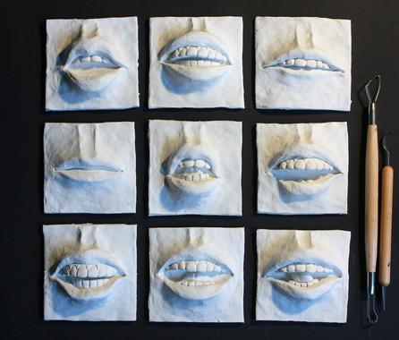 Lip Shapes white