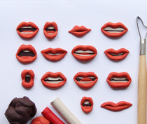 Lip Shapes red