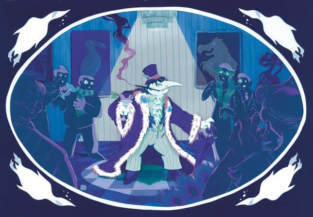 Gotham's Ornathology Collectives Uninvited Guest-2020