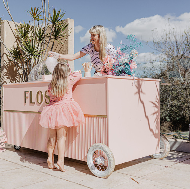 Flossy Byron Bay- Fairy Floss Party- Bir