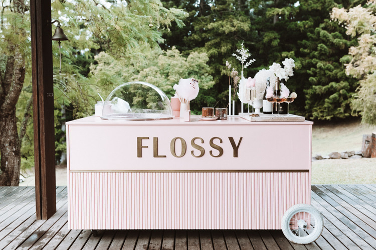 Flossy Byron Bay- Party - fairy floss -