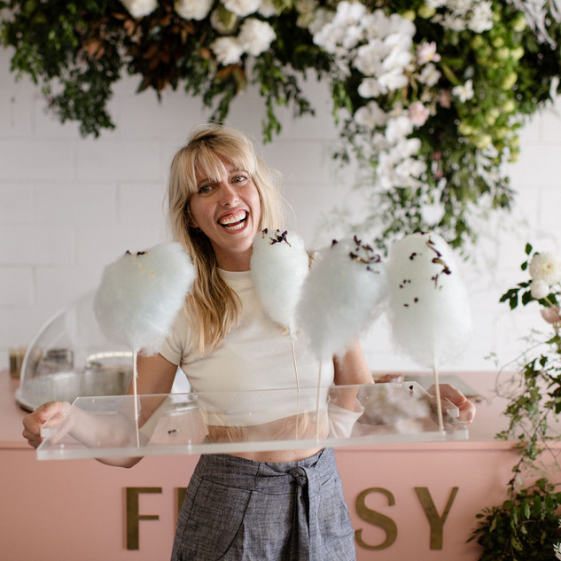 Ivy&Bleu- Flossy Byron Bay- Fairy Floss
