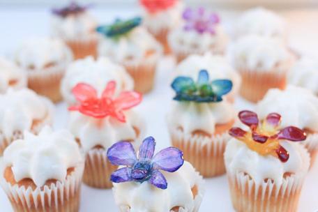 Orchid Treasures Australia- cupcake topp