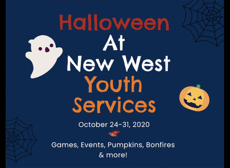Halloween With Youth Services 2020