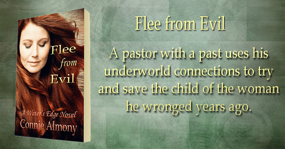 Christian Fiction Book. Flee from Evil. Romantic Suspense.