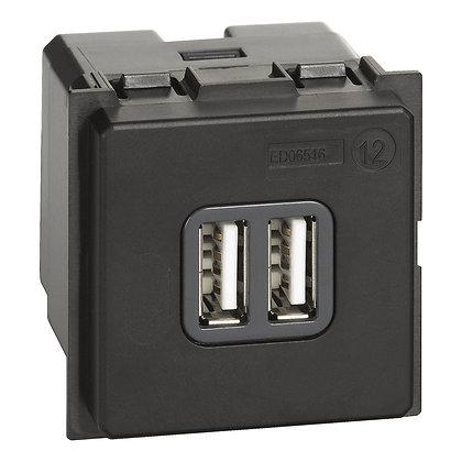 LNOW CARREG.2 X USB-A 3A 2MD