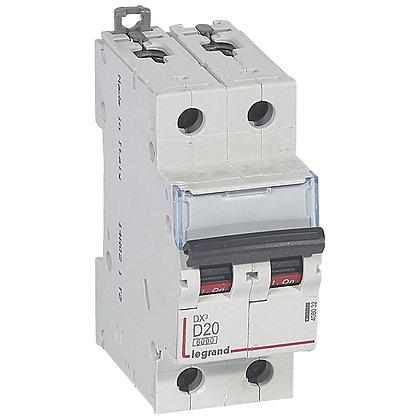 DX3 2P D20 6000A /10KA