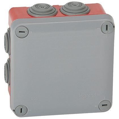 CX.PLEXO 105X105X55 -CINZ/VERM