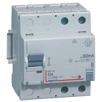 DX3 INTER DIF 2P 63A B 300MA