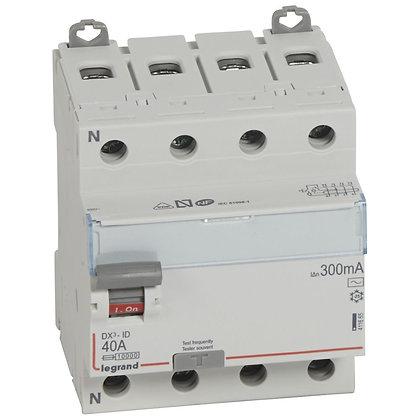 DX3 INTER DIF 4P 40A AC 300MA