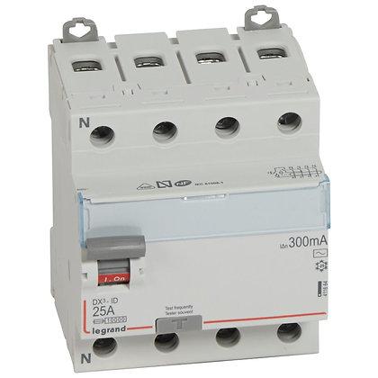 DX3 INTER DIF 4P 25A AC 300MA