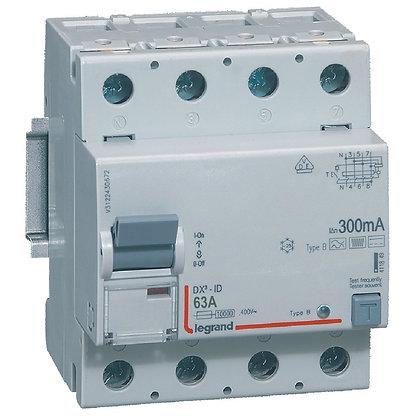 DX3 INTER DIF 4P 63A B 300MA