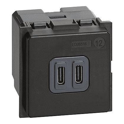 LNOW CARREG.2 X USB-C 3A 2MD