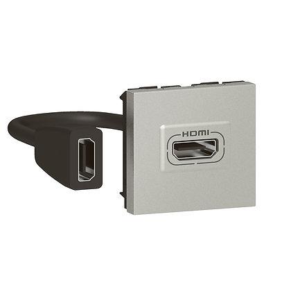 MOSAIC HDMI PRE-CONECT 2M ALUM